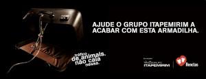 Campanha: Tráfico de Animais Não Caia Nesta Armadilha