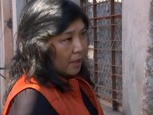 Animal está bem, segundo a coordenadora da ONG, Cristina Adania (Foto: Reprodução TV TEM)