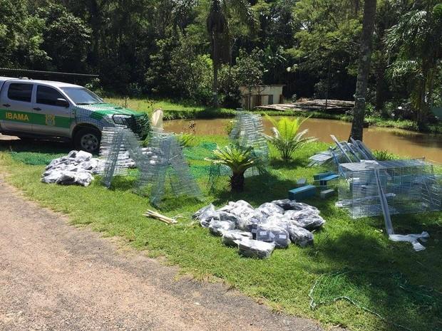Material apreendido na Operação 'Boca de Lobo' será destruído (Foto: Gustavo Santos/G1)