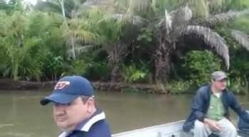 Imagens foram gravadas no Rio Aquidauana, em Miranda