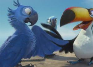 Animação 'Rio' foi lançada em 2011, pela Pixar. Foto: Reprodução/Pixar