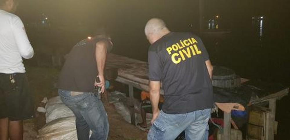Mais de mil quilos de carne de capivara são apreendidos em Soure, no Marajó. — Foto: Polícia Civil / Pará