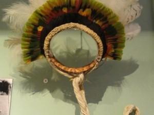 Indígena fazia o artesanato para se sustentar longe da aldeia onde vivia. Foto: Divulgação/MPF