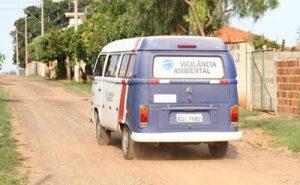 Agentes de saúde percorrem a zona sul para imunizar a população. Foto: Divulgação